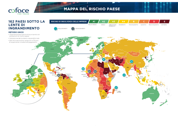 Coface Country Risk Map 2020_ITA bassa